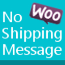 WooCommerce No Shipping Message