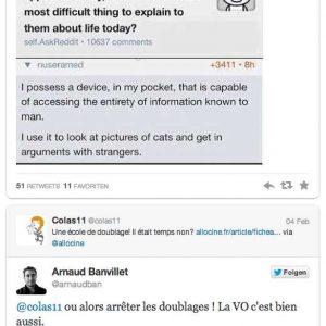 Widget embed latest Tweets