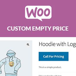 Woo Custom Empty Price