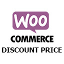Discount and regular price cart and checkout page display WooCommerce