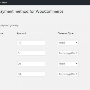 Discounts Per Payment Method for WooCommerce