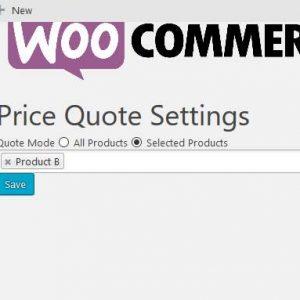 Woo Price Quotes