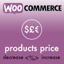 WooCommerce Products Price Increase / Decrease by Percentage