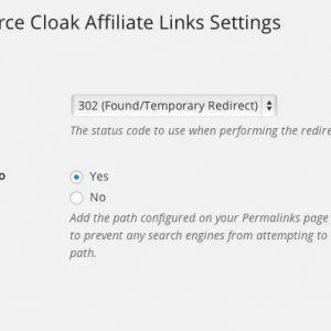 WooCommerce Cloak Affiliate Links