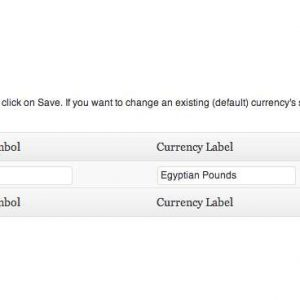 WooCommerce Custom Currencies