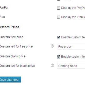 WooCommerce Custom Price