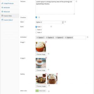 WooCommerce Custom Product Data Fields