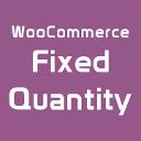 WooCommerce Fixed Quantity