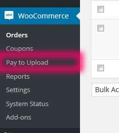 WooCommerce Pay to Upload