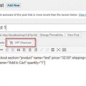 WordPress Checkout