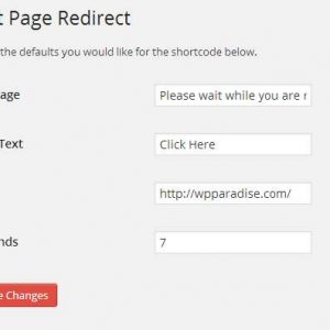 WP Exit Page Redirect