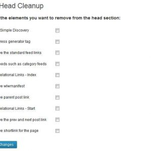 WP Head Cleanup