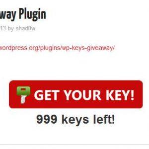 WP Keys Giveaway