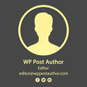 WP Post Author