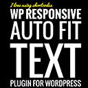 WP Responsive Auto Fit Text