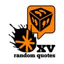 XV Random Quotes