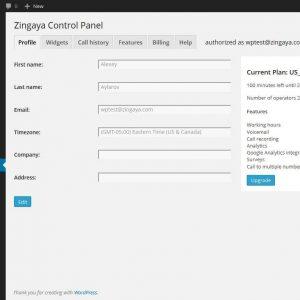 Zingaya Click-to-Call