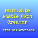 Multisite Postie CRON Creator