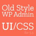 Old Style Admin UI