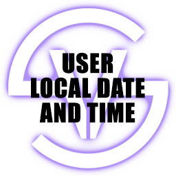 User Local Date and Time