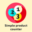 Simple product counter